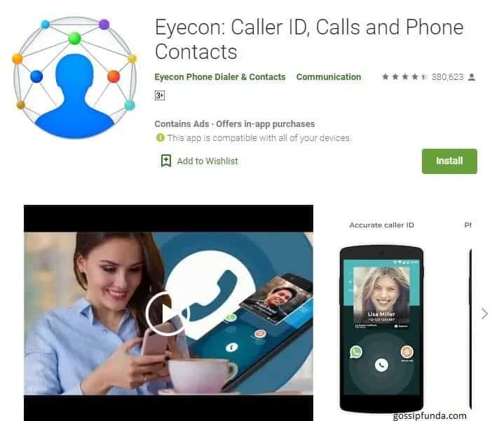 Eyecon Phne Dialer and Contacts