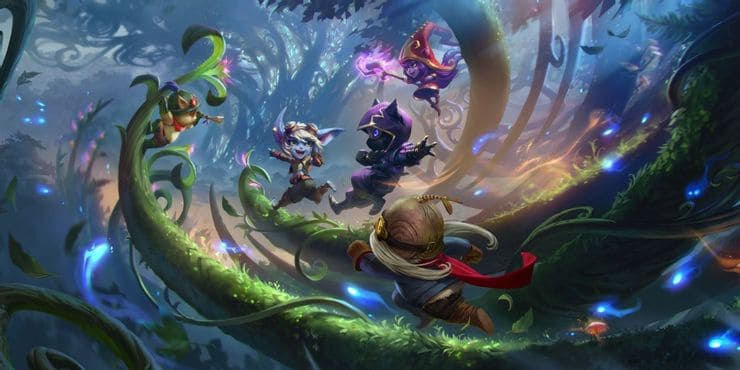 League of Legends: Frequent Map Changes