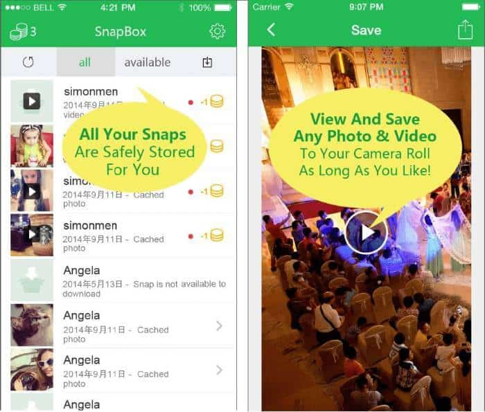 Download Snapchat Stories with Snapbox