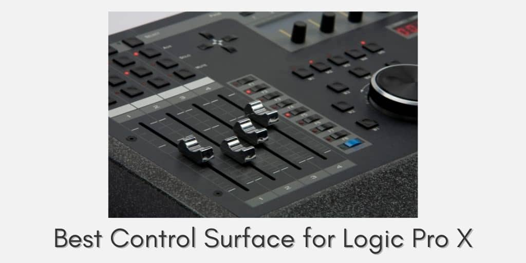 Control Surface for Logic Pro X