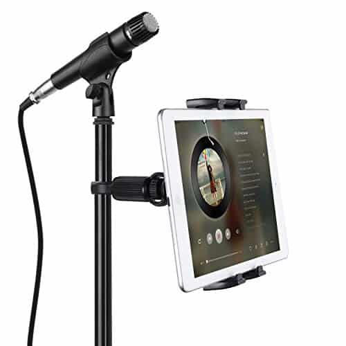 Best iPad Holder for Mic Stand - Jubor Tablet Mount