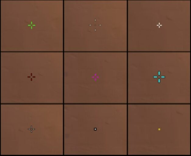 Be smart when picking the crosshair