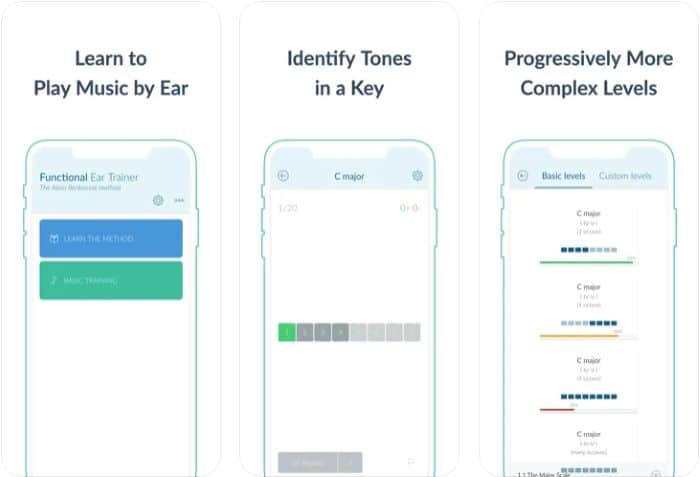 Best Music Theory App - Functional Ear Trainer